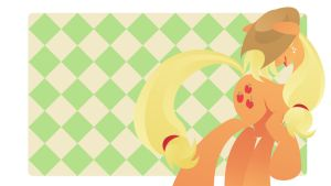 Applejack - Wanna make a ride? by Rariedash