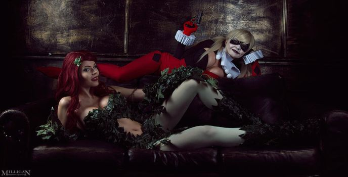 DC - Harley and Ivy by MilliganVick