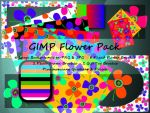 GIMP Flower Pack by Jedania