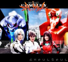 Evangelion Cosplay by GhoulSoul