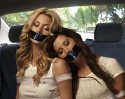Aly Michalka And Ashley Tisdale Tied Up By FAMMA by deltorto