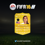 Alex Morgan in FUT by SanchezGraphic