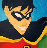 Robin canvas by WeasleyTwin