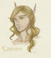 Caeron concept doodle by ridia