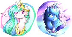The Royal Pony Sisters by SuperJewishGoat