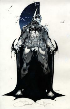 Batman commission SDCC 2014 by simonebianchi