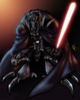 Darth Grievous by scruffyzero