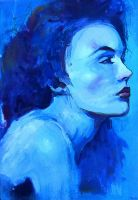 Portrait in Blue by parkurtommo