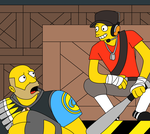 Meet the Scout Simpsons Style (Digital version) by SillyEwe