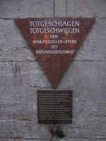 Memorial to gay victims of the nazis (Berlin) by S---t---o---r---m