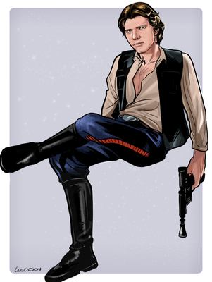 Han Solo by Larscatson