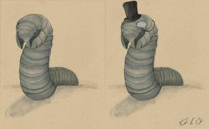 Stately Sandworm by MyRobotBee