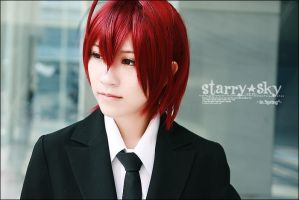 Starry Sky : Tomoe Yoh by kaziest