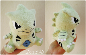 Tyranitar Plush by d215lab