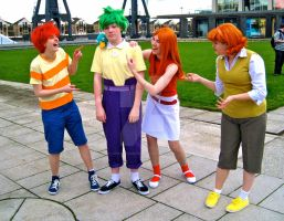 Humour at Ferb's expense by ZeroKing2015