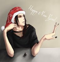 Itachi: Happy New Year by gtxoxo