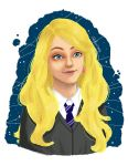 Luna Lovegood by Dwirara