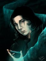 Young Snape by Blookarot
