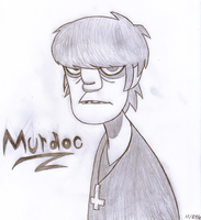 Murdoc by SalemTheCat23