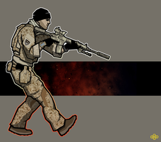 Warfighter by flashmcgee