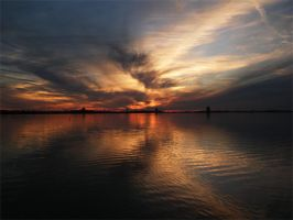 Sunset Over Lake Charles 2 by pumpkinhead90