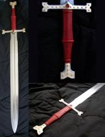 The Marshall Broadsword by GageCustomKnives