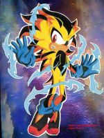 RUSH THE HEDGEHOG Super Form 2 by Chase-TH