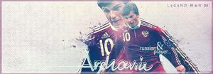Andrei Arshavin Footy Sig. by cmete