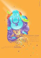 Laughing Buddha by bells31ita