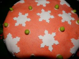 Christmas Cake 2014 - 3 by Wilhelmine