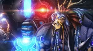 Kedzuel and the Reaper upclose by Ghostwalker2061