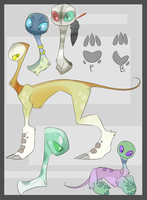 Liroluce Species Reference. by KeptinKeem