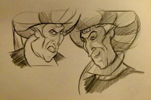 Claude Frollo by brianpitt