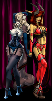 Collab: Kera and Vistyne by t3h-dyl4n