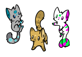 Adoptables | OPEN by xXRockingRainbowXx