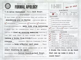 RotG: Formal Apology by MewWitch