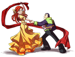 Buzz+Jessie: Dance with Me by YoukaiYume
