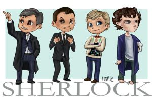 SH-SH-SHERLOCK by Mad-Hattie