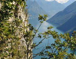 Above Lugano 2 by wildplaces