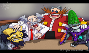 Mad Scientist Meeting by JenL
