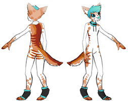 Chester Anthro Ref by Skyriil