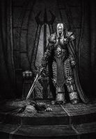 Arthas by BrokenMachine86