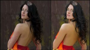 Carly Redwood retouch by Littlemate