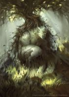 Forest Troll by Nele-Diel