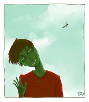 greenman by SleepyLamb