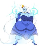 Chubby Ice Queen v2 by fatfoxlower