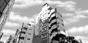 Manga Building 1 FREE USE by ChazzVC