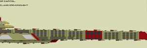 Capitol High Emperor Class Dreadnought by EmperorMyric
