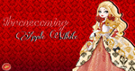 Ever After High Apple White Thronecoming Wallpaper by Wizplace