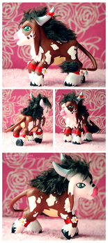 Custom Toy - Dholmon by xuza